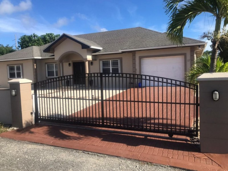 Sliding Gate and Re-Furbish 2-double Swing Gate