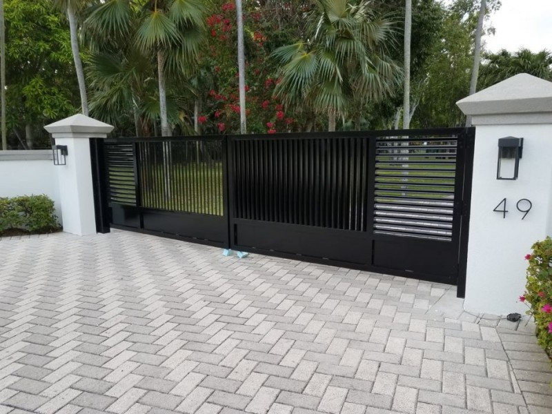 Pedestrian Gate and Double Swing Gates