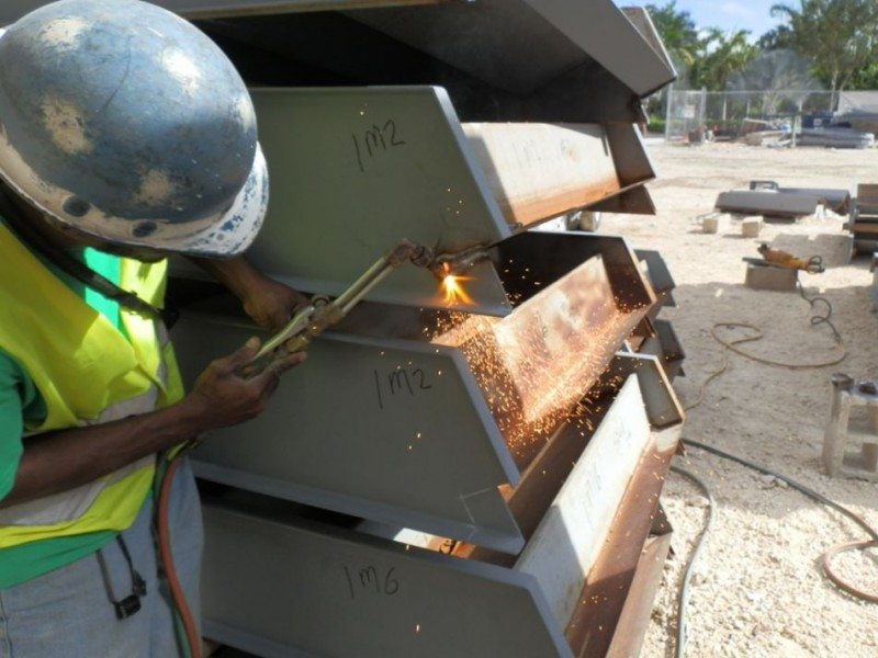 Structural Welding In Cayman Islands - Campbell'S Welding